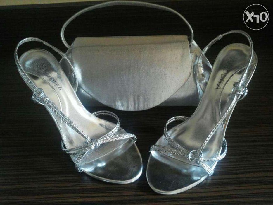 Sandale elegante cu toc