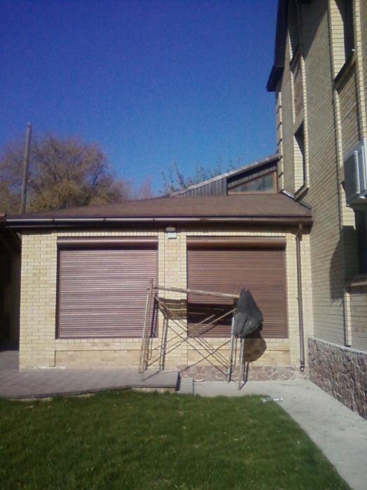 Рольставни на гараж, роллеты на окна, решётки на окна раздвижные