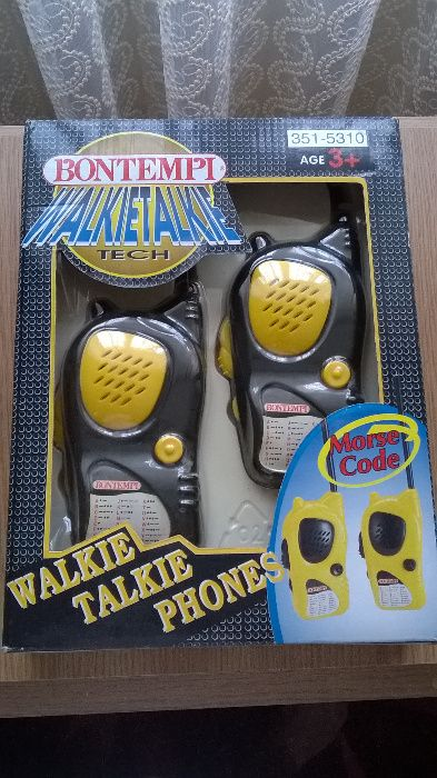 Statii walkie talkie Bontempi vintage 1999