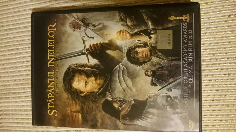 Lord of the Rings / Stapanul Inelelor - Intoarcerea Regelui DVD Dublu