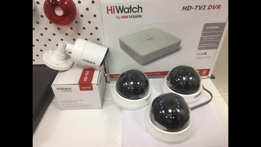 Готовый комплект видеонаблюдения 60000