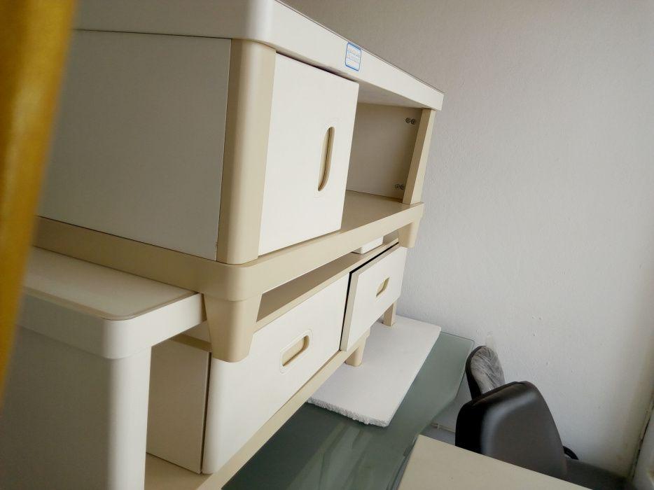 Conjunto rack para TV e mesa de centro.produto novo na caixa. Golfe - imagem 1