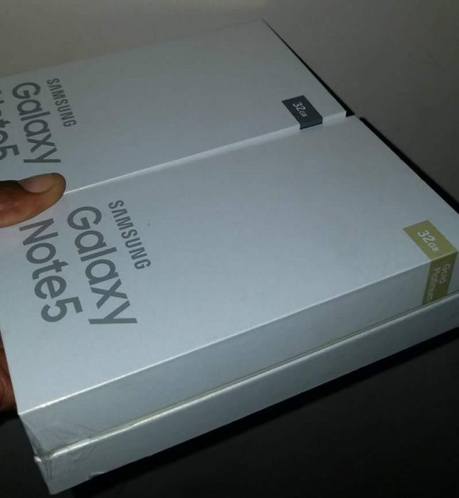 Samsung Galaxy Note 5 32Gb Selados Oferta Semanal Cores Disponíveis
