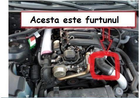 Furtun Intercooler BMW E46 318D 320D, E39 520D NOU cu GARANTIE