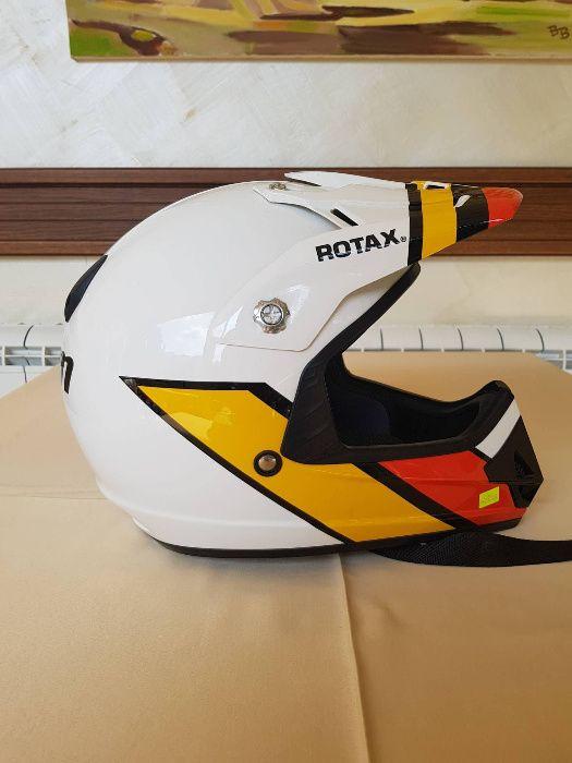 Мотокрос каска CAN AM Rotax, НАМАЛЕНА