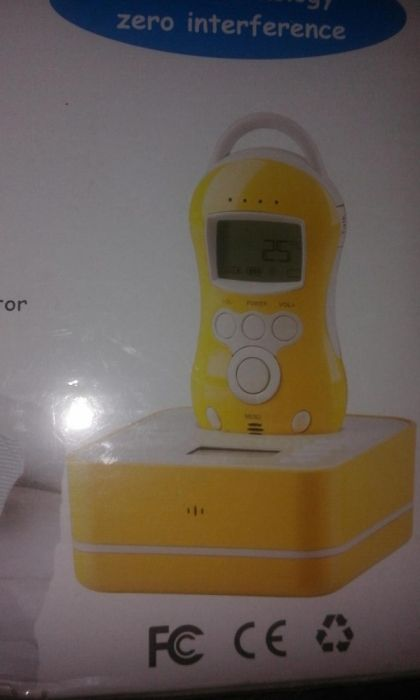 Audio Baby Monitor nou PNI B6000 Wireless, fara interferente