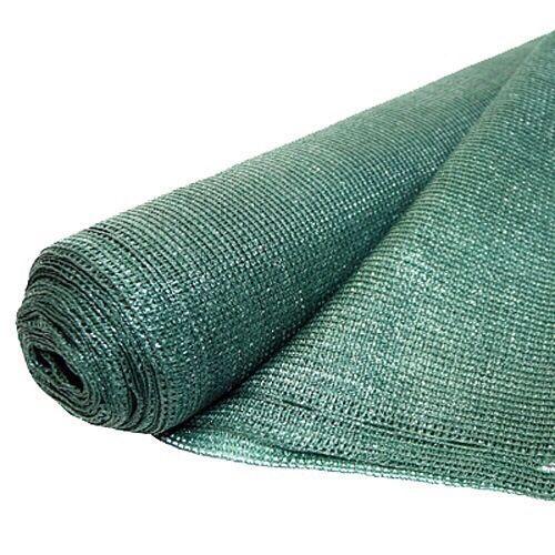 Plasa verde pentru gard antivant 2x50 m grad de umbrire 90%