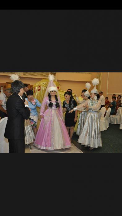 Казахское платья