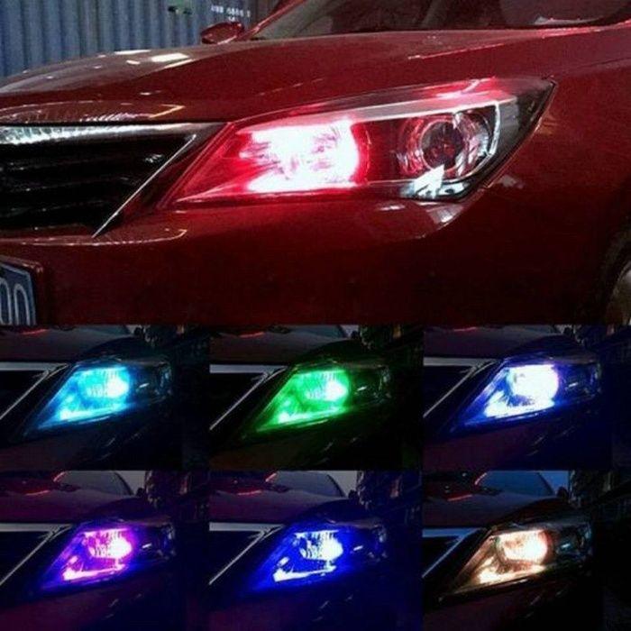 Цветни LED Т10 габарити