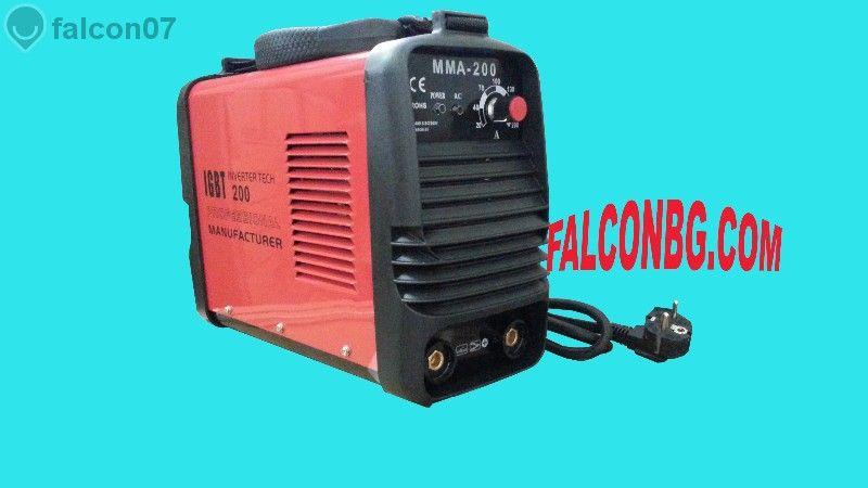 Инверторен електрожен ММА 200