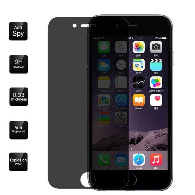 Folie Privacy Neagra Pentru Iphone 5/5S/SE/6/6S/6 Plus