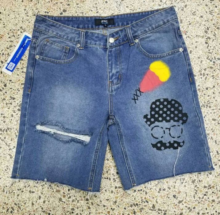 Calções Jeans