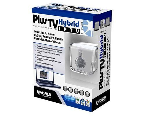 Receptor de senhal para TV Plus Hybrid IPTV Kworld