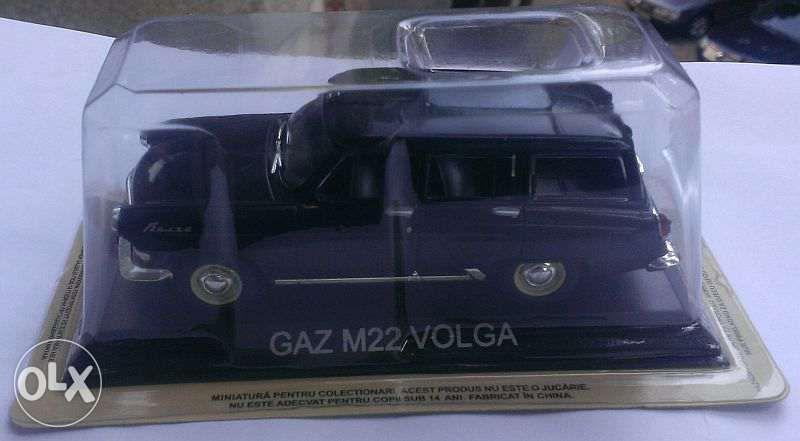 Macheta metal DeAgostini Gaz M22 Volga NOUA+revista Masini de Legenda