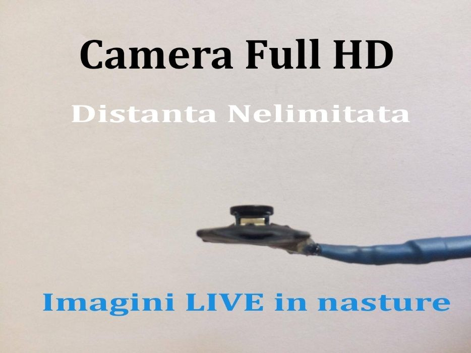 BAC!Camera video de copiat nasture PX-500 FULL HD Live Km Nelimitati