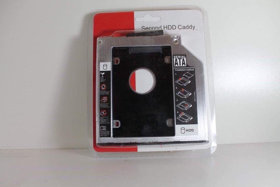 Adaptador Caddy DVD para segundo HD/SSD Sata para Portatil