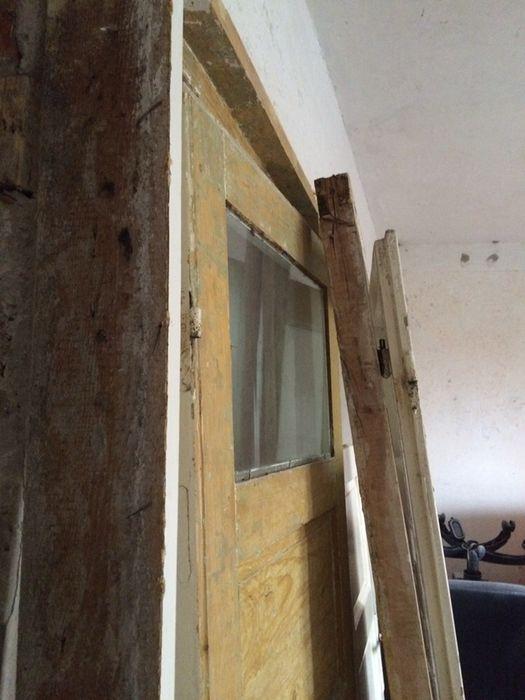 3 usi interior cu tocuri, pervazuri, etc. - lemn masiv 50 ani vechime Husi - imagine 6