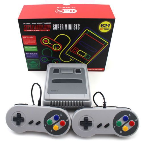 Consola 621 Jocuri Clasice Super Mini Family HDMI Jocurile Copilariei
