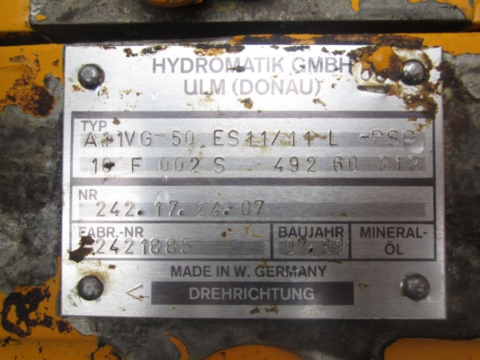 Pompa Hydromatik A11VG50ES11 Brasov - imagine 3
