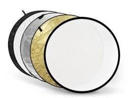 Blenda, Blende 5 in 1 gold/ silver diferite marimi pt. foto studio