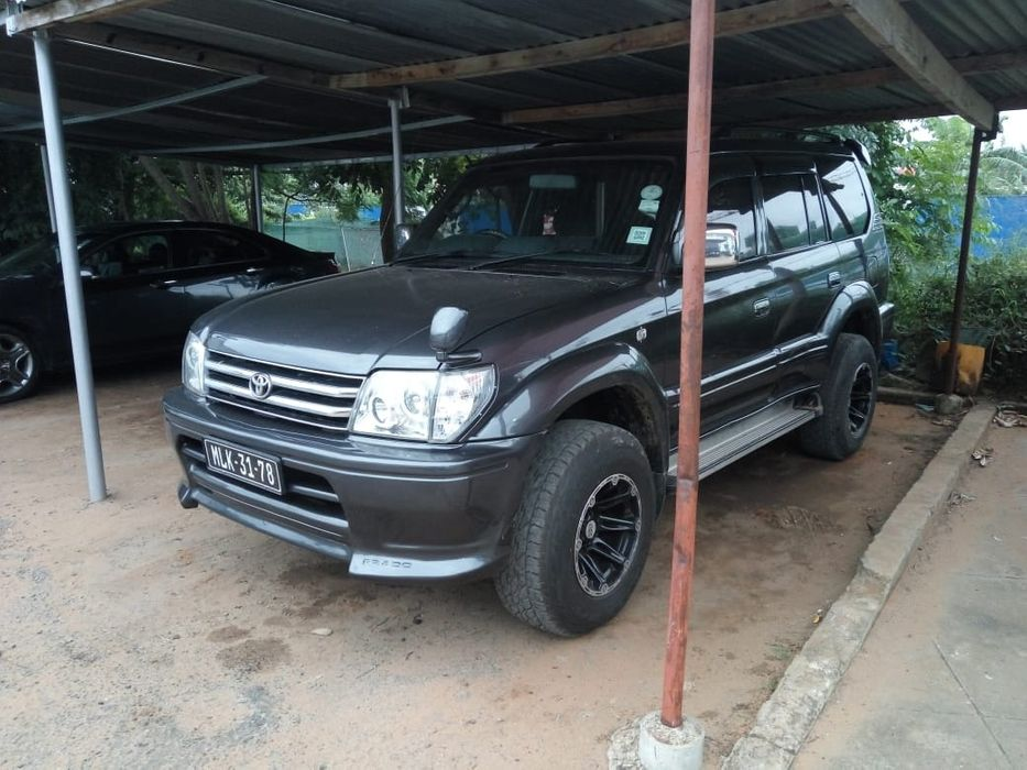 Prado a diesel