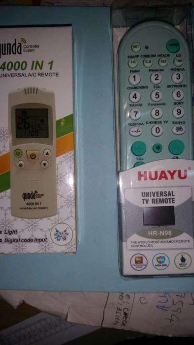 Remotes de ar condicionado e tvs leds lcd