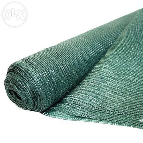 Plasa verde pentru gard / umbrire 2x10 m grad de umbrire 90%