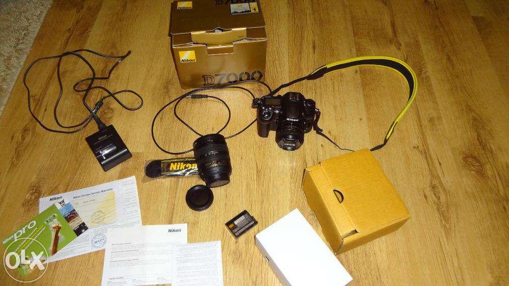 Nikon D7000 dslr 17000 cadre ca nou impecabil cutie Schimb D7100