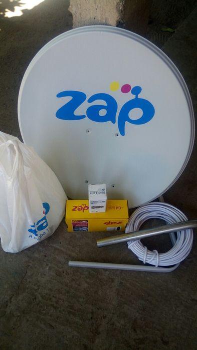 Kit Zap HD completo com instalação e um mês grátis pacote Max por
