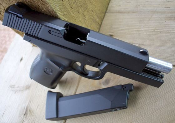 CEVA UNICAT!! Pistol Full Metalic - Glock Cal.6mm Airsoft co2 Automat