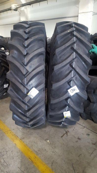 Cauciucuri noi 18.4-38 de tractor de spate marca OZKA cu 14 pliuri R38