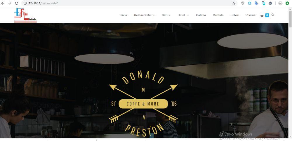 Criação de site ou Página Web