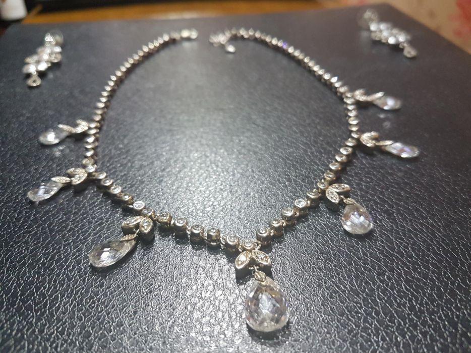 Colier mireasa Argint