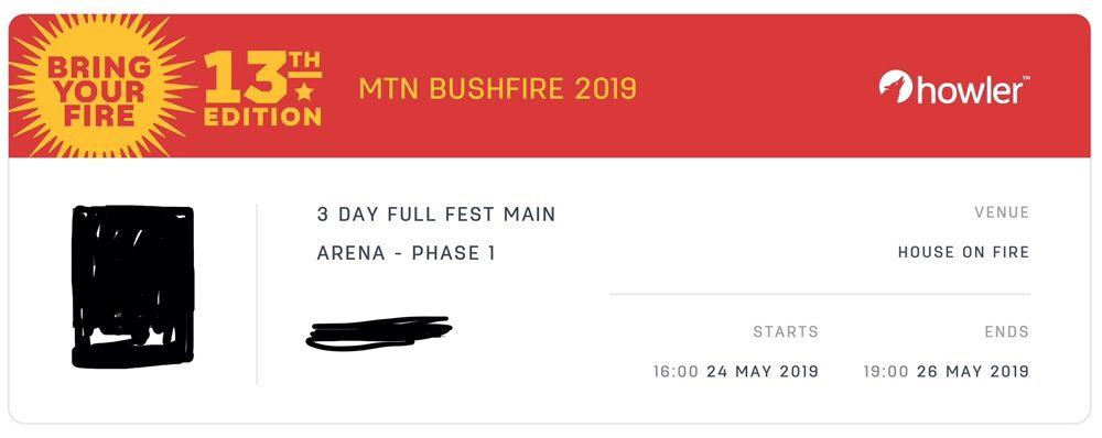 Tickets para Bushfire Suazilândia