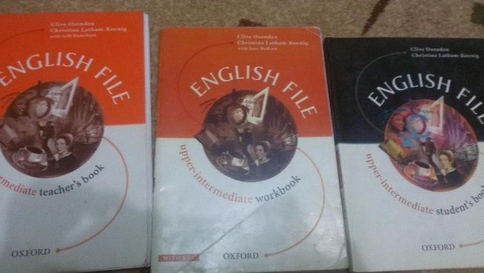 Продам книги New English File