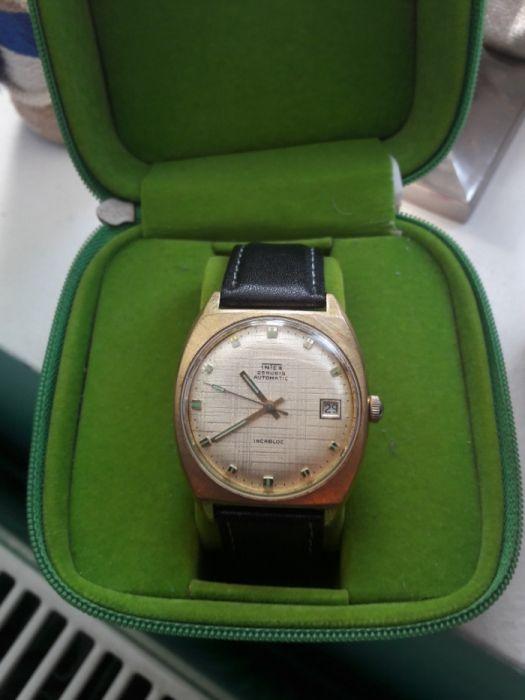 Ceas De Mana Automatic Vintage Intex 25 Jewels
