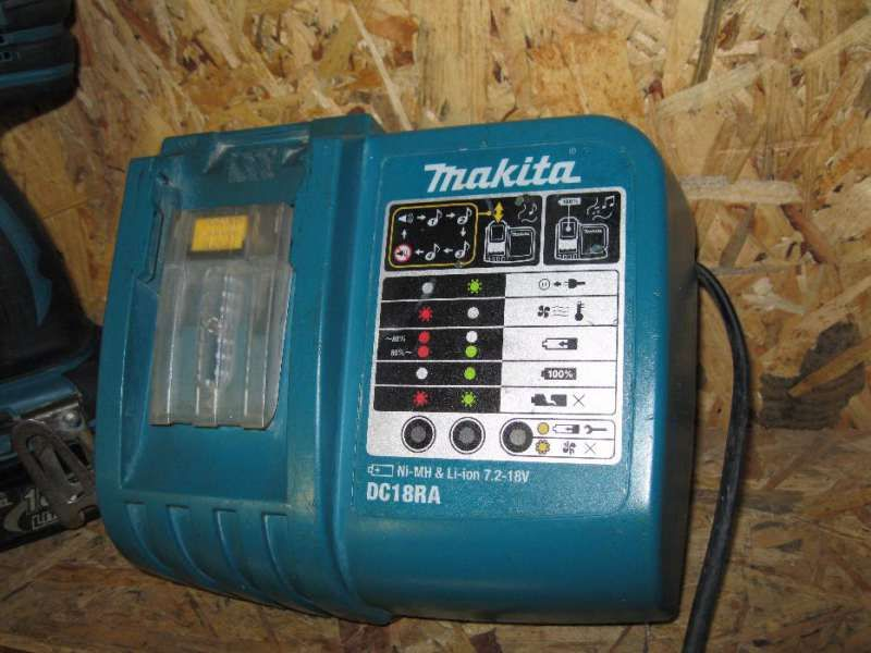 Зарядно Makita DC18RA DC18RC Li-ion. Преработване от 110V на 220V
