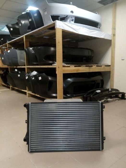 Радиатор ДВС Skoda Superb, Yeti. Новый. Дубликат. В наличии в Астане
