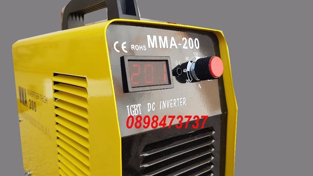 Промоция!!!Мма-200 Инверторен електрожен с дисплей