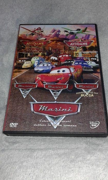 Disney Avioane si Masini - Colectie 6 DVD dublate romana