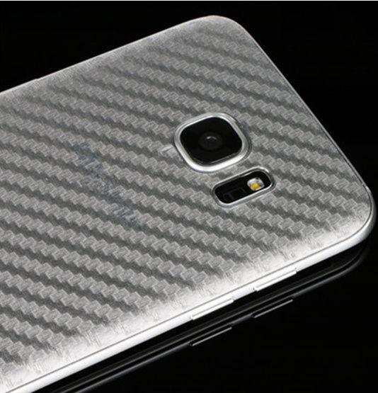 Folie carbon spate Samsung Galaxy S7 Edge