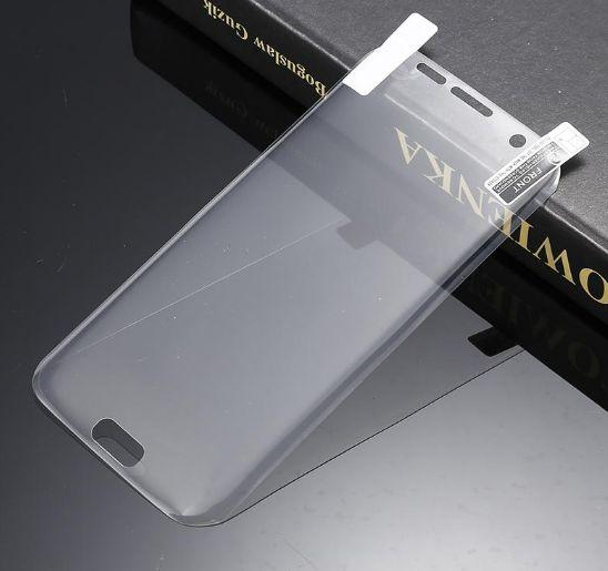 Folie 3D Curbata Ecran PET Samsung Galaxy S6 Edge Full Cover