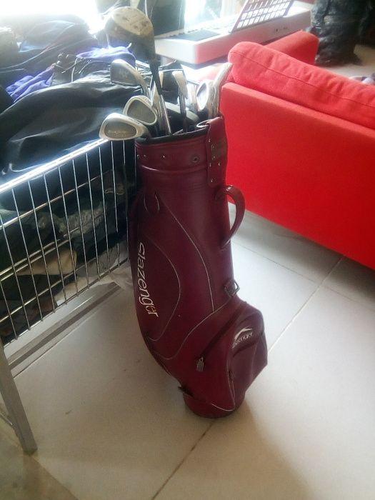 Kit para golf, para quem gosta de lazer original - usado