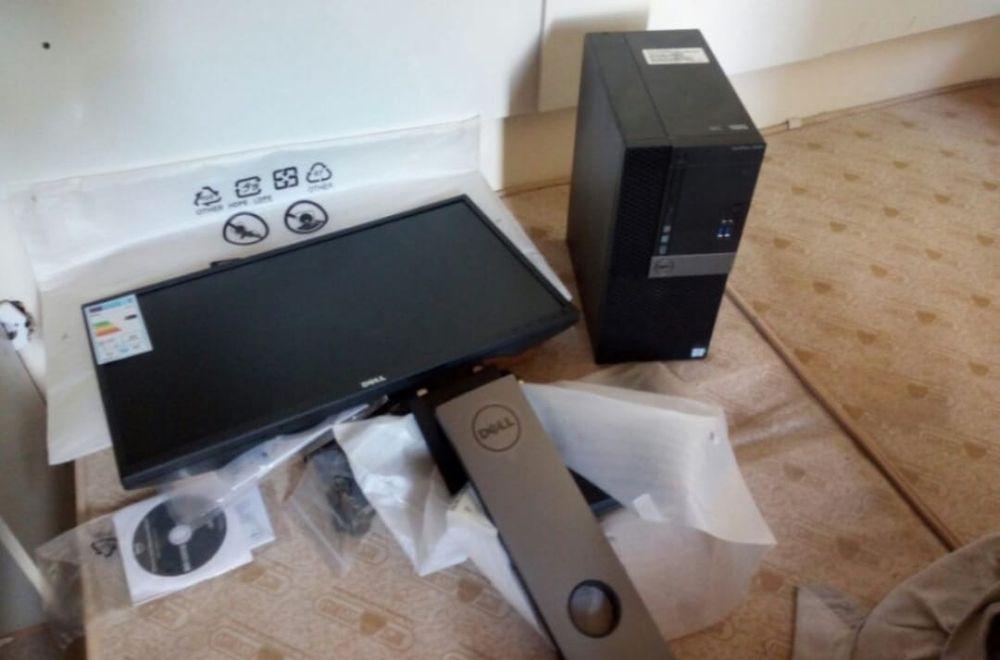 Computador de mesa novo disponível