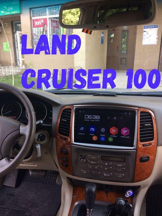 Магнитола Тойота Ленд Крузер 100 200 Крузак (ШГУ Toyota Land Cruiser)