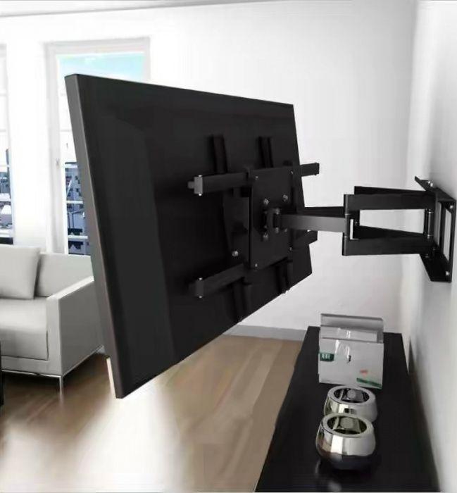 Навеска телевизора на стену. Навестить кронштейн Установка. Установить