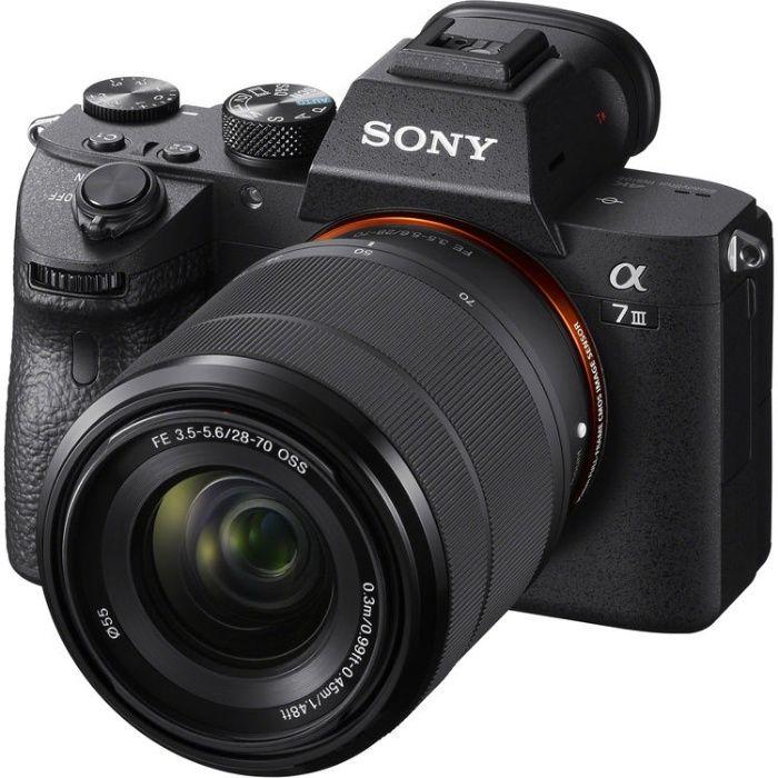 Sony a7III 24MP Full-frame 4K + Cage SmallRig + Acessórios