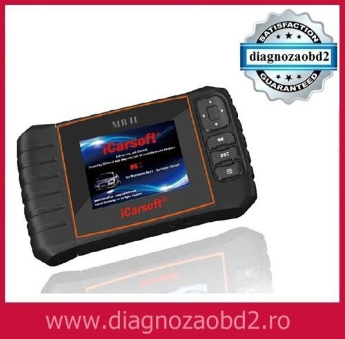 Scaner diagnoza auto tester iCarsoft MBII Mercedes Benz - OBD2