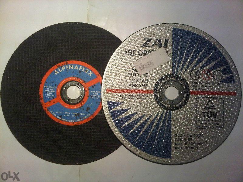 Продавам дискове за рязане метал ,дърво , шмиргел
