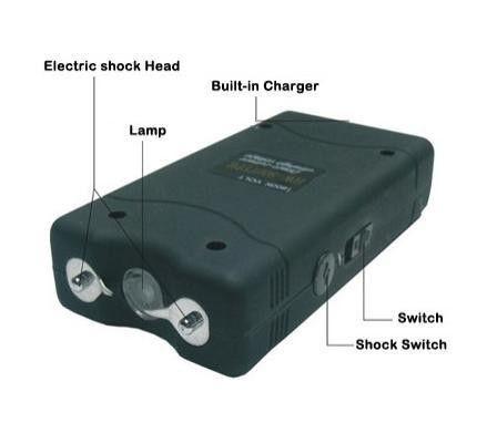 Electrosoc Mic de Poseta cu Functie de Lanterna WS / TW - 800